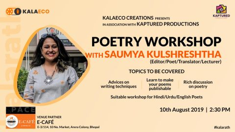 Poetry Workshop with Saumya Kulshreshtha | Kalarath by Kalaeco